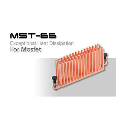 Enzotech MST-66 Full Copper MOSFET Cooler • 13.14£