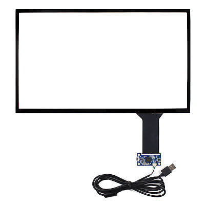 15.6  Capacitive Touch Screen Fit To 15.6inch 1366x768 1920x1080 LCD Screen • 58.88£
