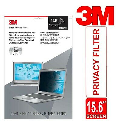 3M Privacy Filter For 15.6  Laptop Widescreen (16:9) Thin And Touch Sensitive • 37.72£
