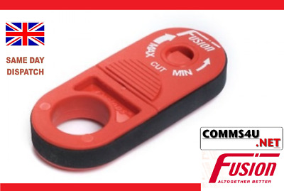 CYCLOPS Tool Cable Stripper Stripping UTP STP Cat5 6 Data Voice Fibre Fusion RED • 12.40£