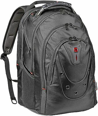Wenger Ibex Polyester Backpack (Black) For 17 Inch Laptops • 87.38£