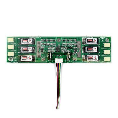 6CCF Inverter Board With Cable Fit To 6 CCFL Backlight LCD Screen • 15.99£