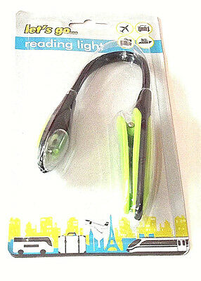 NEW Portable Clip On Reading Light Lamp Avid Book Reader • 7.99£