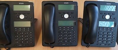 SNOM D745 Desk Phone • 110£