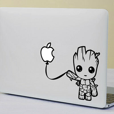 Baby Groot - Apple MacBook Sticker Fits 11  12  13  15  & 17  Models • 4.99£