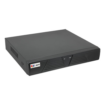 ACTi ENR-010P 4-Channel 1-Bay Mini Standalone NVR With 4-port PoE Connectors • 279£