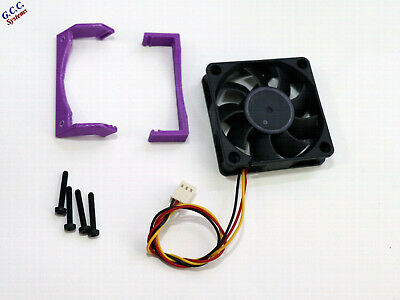 Network Card Cooler 60mm Cooling Fan, Mount Bracket Clip & Screws For HP NC523SF • 23.99£