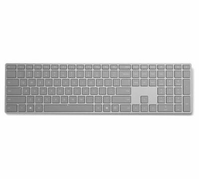 Microsoft Surface Wireless Keyboard With Built In Number Pad Silver • 69.95£