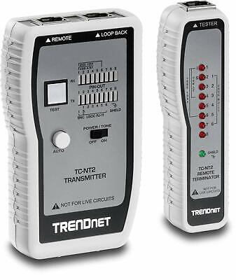 TRENDnet Network Cable Tester Tests Ethernet/USB And BNC Cables • 37.99£