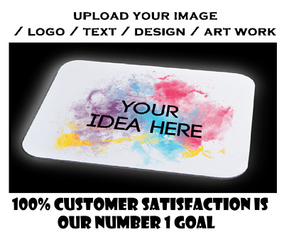 Personalised Custom Your Picture/ Logo Computer Mousemat Mouse Pad Rubber  • 3.49£