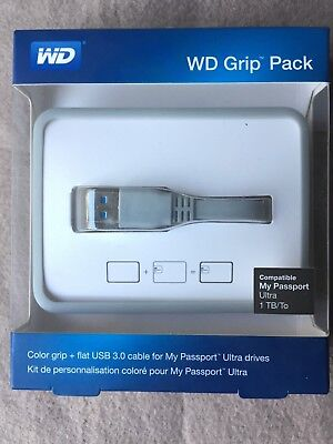 WD  1TB/To Flat USB Cable Grip Pack - Smoke, New/sealed • 4.99£