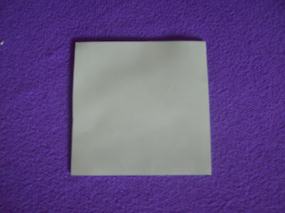 100MM X 100MM 10CM SQUARE 0.5MM THICK THERMAL SILICONE HEAT TRANSFER PAD 2 W/m-k • 1.87£