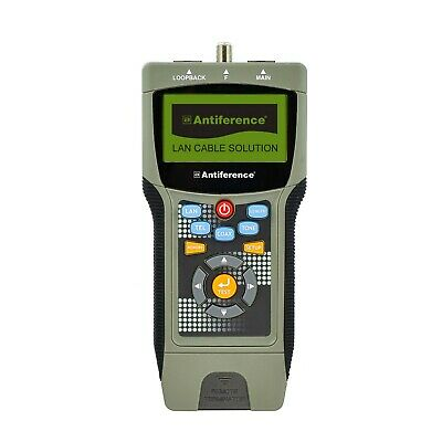 Antiference Atr269 Professional Cable Tester /  LAN, TEL & COAX CABLE TESTING • 159.95£