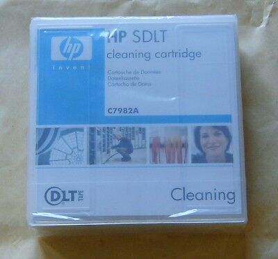 HP SDLT Cleaning Cartridge - C7982A  - New, Sealed • 24.95£