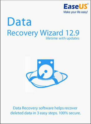 EaseUS Data Recovery 13.6 Lifetime Upgrades - Not Pirated • 19.95£