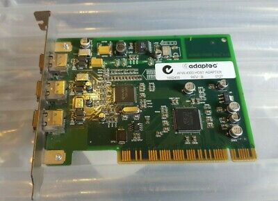 1x Adaptec FireConnect AFW-4300B FireWire 1394 PCI Card Adapter 3 Ports 1892400 • 16.98£