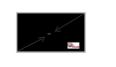 NEW 15.6  Display LED Laptop Screen 40 PIN For HP, Dell, Asus, Toshiba, Sony • 32.98£