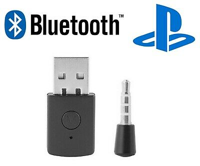 PS4 Bluetooth Wireless USB Adapter Dongle 4.0 Receiver For Headphone Microphone • 9.99£
