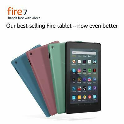 New Amazon Kindle Fire 7  Tablet 16GB With Alexa (9th Gen) Latest UK Stock • 49.99£