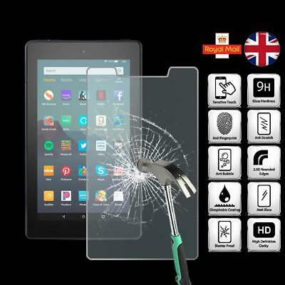For Amazon Fire 7 (9th Gen 2019) - Tablet Tempered Glass Screen Protector Cover • 4.99£