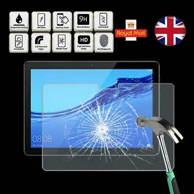 For Huawei MediaPad T5 10 - Tablet Tempered Glass Screen Protector Cover • 5.99£