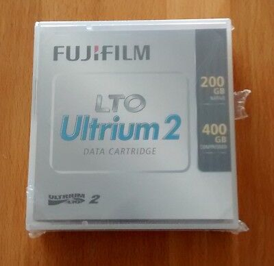 5 X FUJI LTO2 Ultrium 2 400GB TAPES - NEW & Sealed • 49.95£