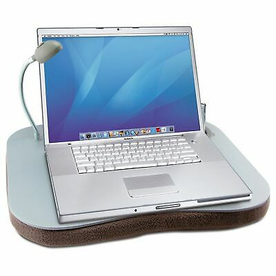 Portable Laptop Cushion With 5 Led Light & Cup Holder Reading Writing Lap Tray • 11.99£