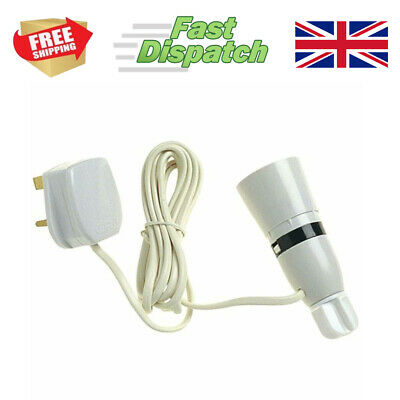 Wine Bottle Light Lamp Adaptor Kit Fitting 2m UK Plug White • 6.99£