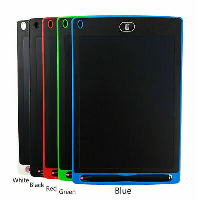 12'' LCD Tablet Drawing Writing Board Kid Notepad EWriter Digital Graphic Gifts • 9.99£