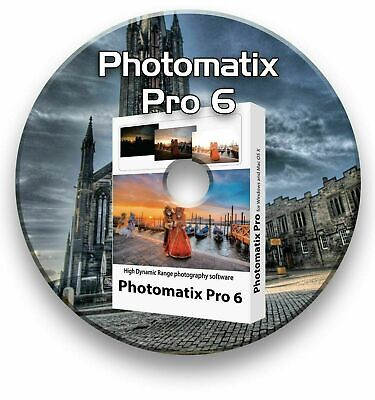 Photomatix Pro 6 Hdr Photo Editing Suite Software & License Windows On Cd • 4.99£