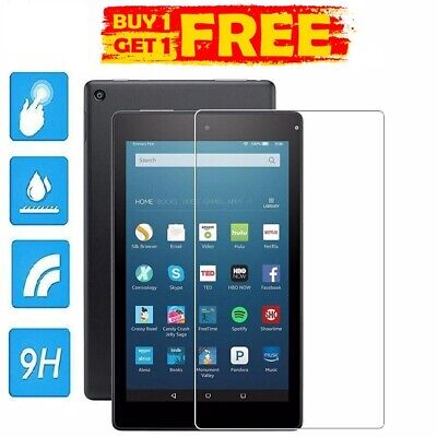 2 Pc Genuine Tempered Glass Screen Protector AMAZON KINDLE FIRE HD 7  BUY1 GET2 • 3.98£