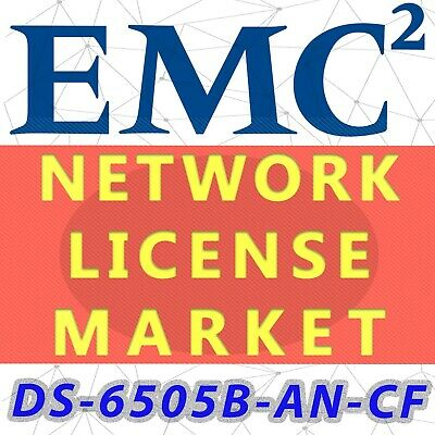 DS-6505B-AN-CF EMC DS-6505B ADAPTIVE NETWORKING LICENSE (OEM Products) • 1,467.66£