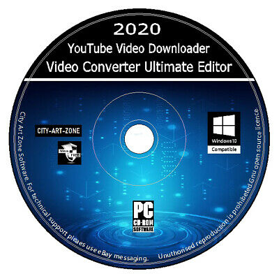 YouTube Video Downloader + Video Converter Ultimate Editor Movie Studio HD 4K + • 2.89£