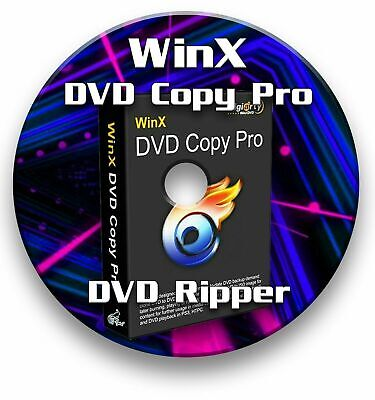WinX DVD COPY PRO 2019 RIPPER CD - FULL VERSION 3.9.1 WITH LICENCE • 4.99£