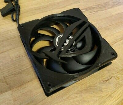 ROG 120mm Custom Fan Grill - Black • 7.50£