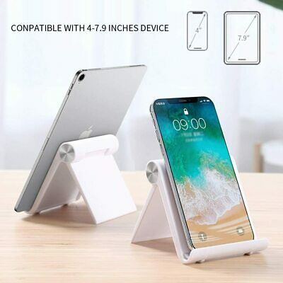 Adjustable ABS Anti Slip Tablet Stand Table Phone Holder • 5.42£