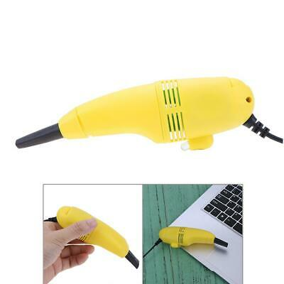 Mini USB Vacuum Keyboard Dust Cleaner For Laptop Computer PC(Random Color) • 4.45£