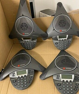 Polycom Soundstation IP 6000 VoIP Conference Phone/ No Power Supply- Very Clean. • 79.99£
