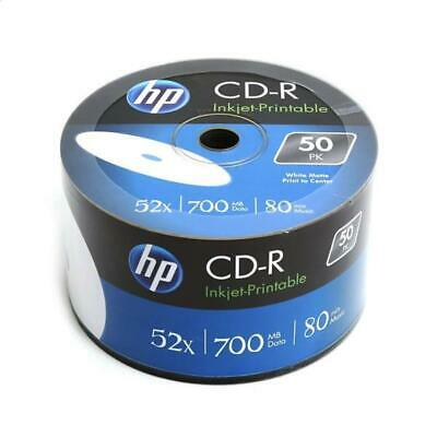 300 HP Hewlett Packard, Fullface Printable CD-R Packed 50s  Brand New Stock • 46.90£