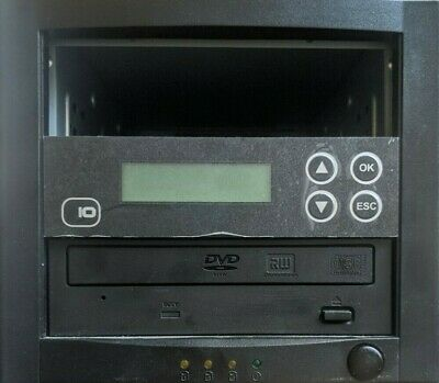 IO CD DVD Duplicator - 1 To 1 Copier - Standalone (1 DVD RW Drive Included Only) • 79.99£