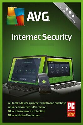 AVG Internet Security 2020, 10 Multi-Devices 1 Year (DOWNLOAD VERSION)  • 10.49£