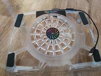 Wowled Cooling USB Fan With Stand. Multi-colour.  • 15£