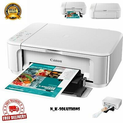 Canon PIXMA MG3650S All In One Wireless Inkjet Printer - White • 68.99£