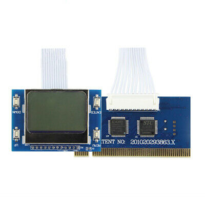 Motherboard Tools Accessories LCD Screen PCI Analyzer Test Card Diagnostic Mini • 7.69£