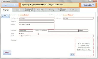 HR Database. HRIS Centralise Employee Data. Absence; Training; Jobs; Reminders • 4.95£