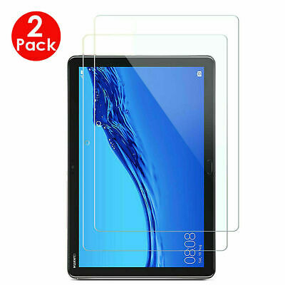 2PC 100% Genuine TEMPERED GLASS Screen Protector Huawei MediaPad T3 9.6 T5 10.1  • 3.98£