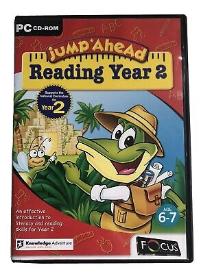 Jump Ahead Reading Year 2 PC CD-ROM Educational Childrens Software • 2.68£