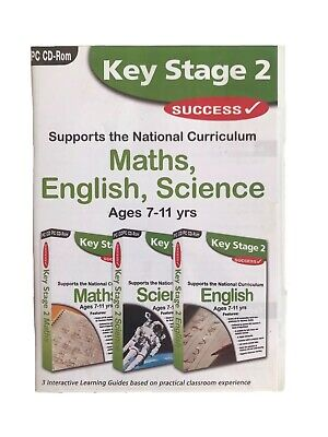 Key Stage 2 Success Pack By Idigicon PC Software Maths English Science • 2.99£