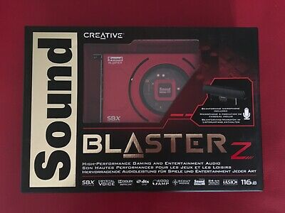 Creative Sound Blaster Z PCIe Gaming Sound Card With Beamforming Microphone • 34£