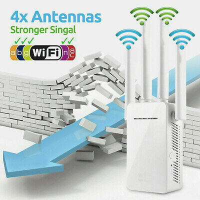 WiFi Extender Range Signal Booster Wireless Dual-Band Network Repeater • 18.99£